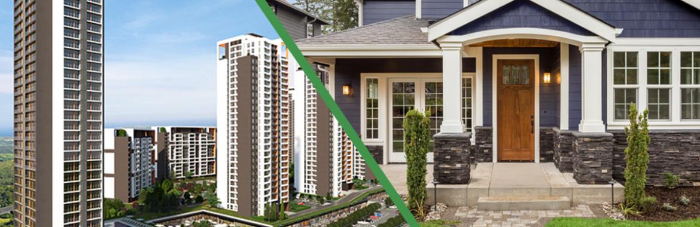 ايجابيات و سلبيات السكن في مجمع سكني أو شقة منفصلة