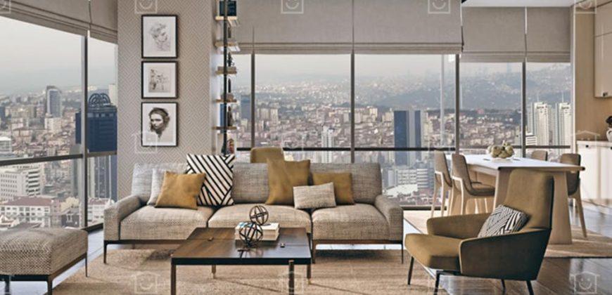 شقق سكنية فاخرة للبيع في شيشلي اسطنبول T-204