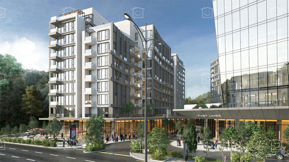 شقق سكنية بإطلالة الغابات في مسلك اسطنبول | T-214