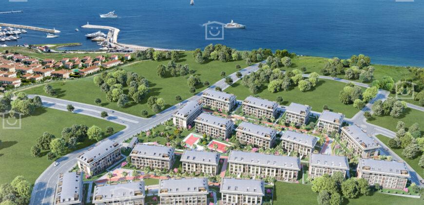 شقق سكنية بإطلالة بحرية في اسطنبول بيليك دوزو T-226